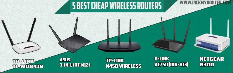 5 best cheap wireless routers