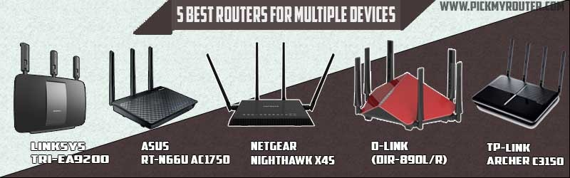5 best router for multiple devices