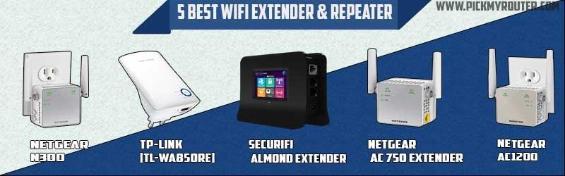 5 best wifi extenders or repeater