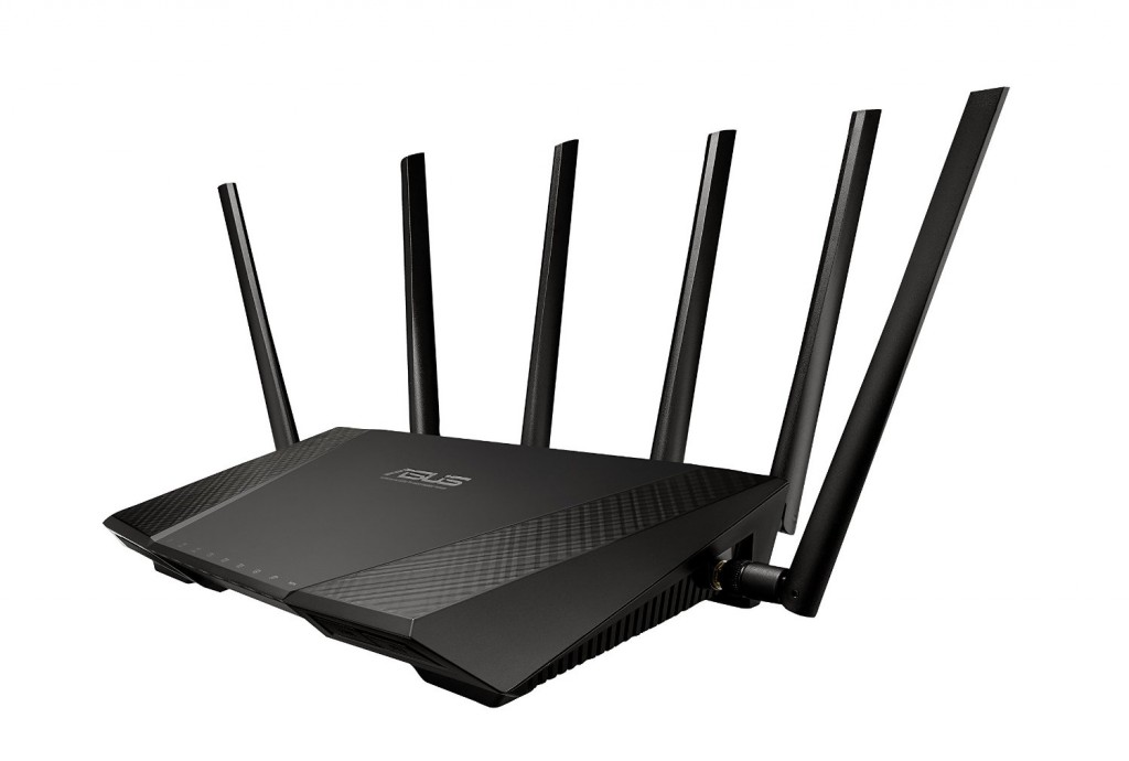 The ASUS RT-AC3200 Tri-Band AC3200 Wireless Router