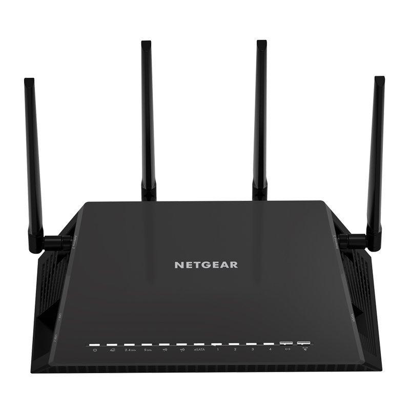 NETGEAR Nighthawk X4S - AC2600 4x4 MU-MIMO Smart WiFi Gigabit Gaming Router (R7800-100NAS)