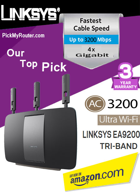 Linksys AC3200