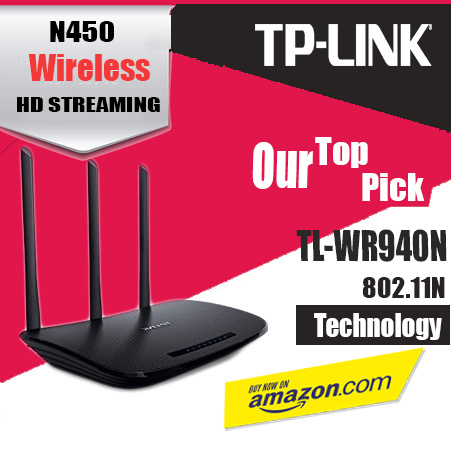 TP-Link N450 (TL-WR940N)
