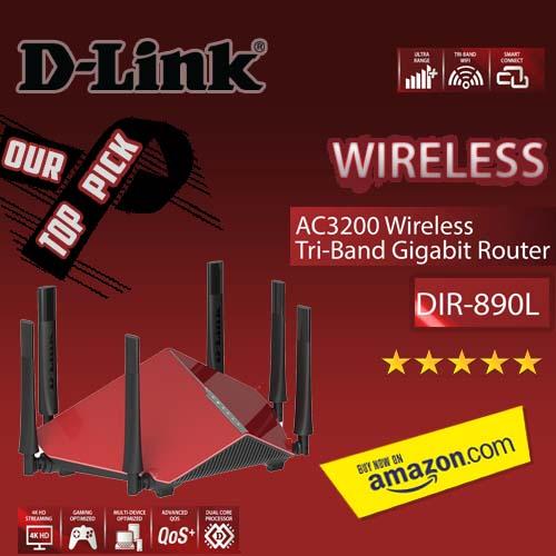 D-LINK AC3200 ULTRA