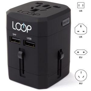 LOOP World Adapter Plug