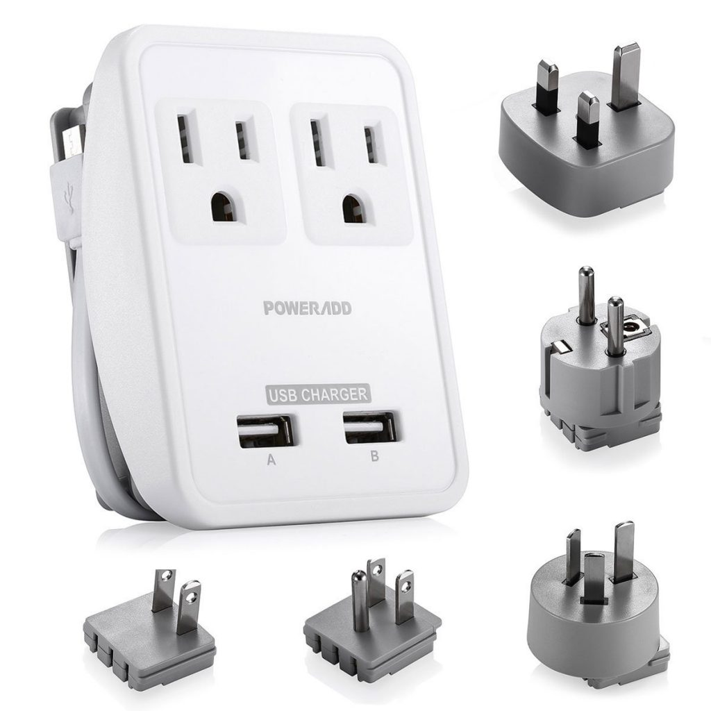 Poweradd [UL Listed] 2-Outlet