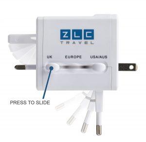 ZLC Travel Compact Universal Powe