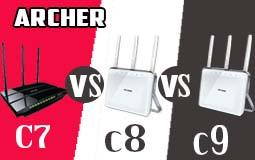 archer c7 vs c8 vs c9